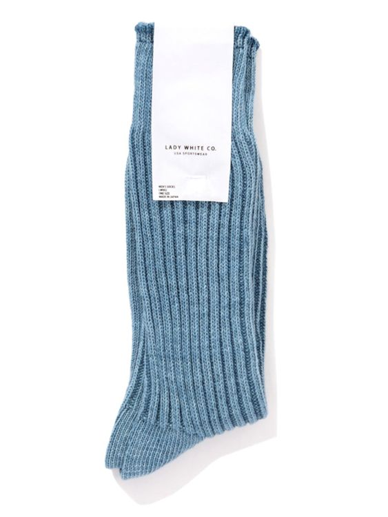 Lady White Co. Lady White Co. Athletic Socks Light Blue