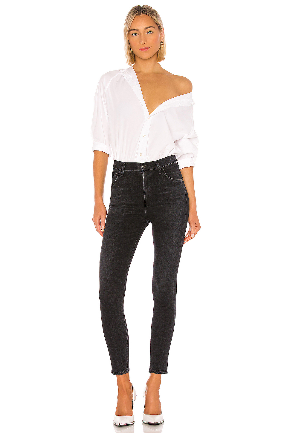 Citizens of Humanity Chrissy Sculpt High Rise Skinny