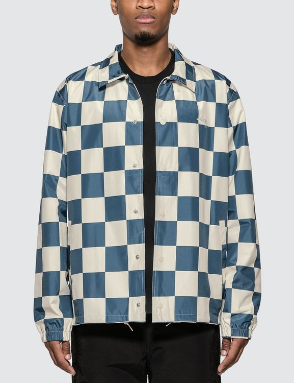 Stussy Checker Coach Jacket