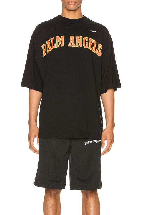 Palm Angels New College Logo Tee