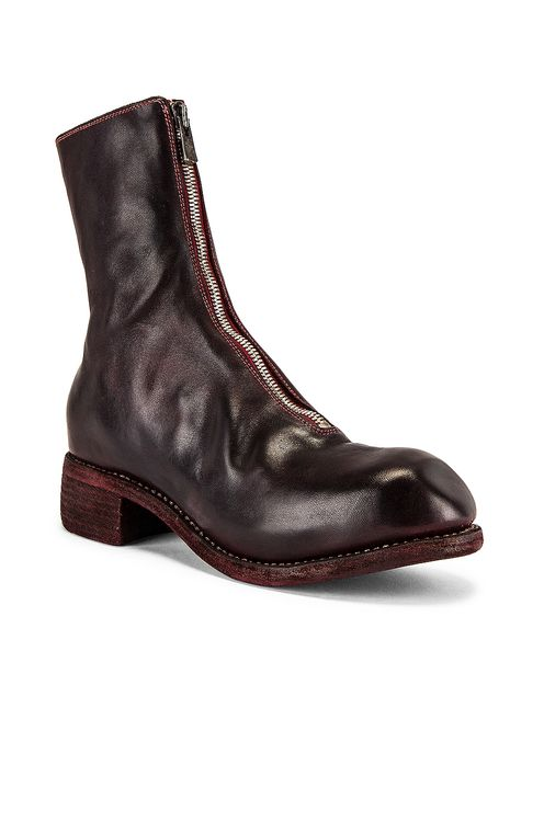 Guidi Full Grain Horse Front Zip Boot