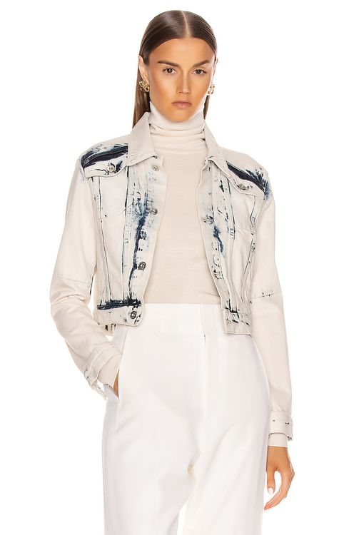 Proenza Schouler White Label Cropped Jacket