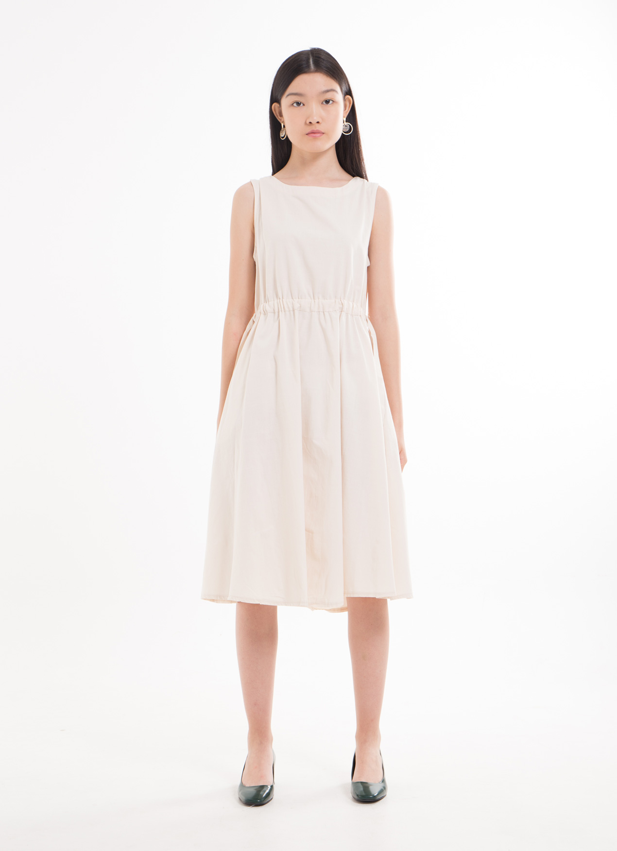 BOWN Anole Dress - White
