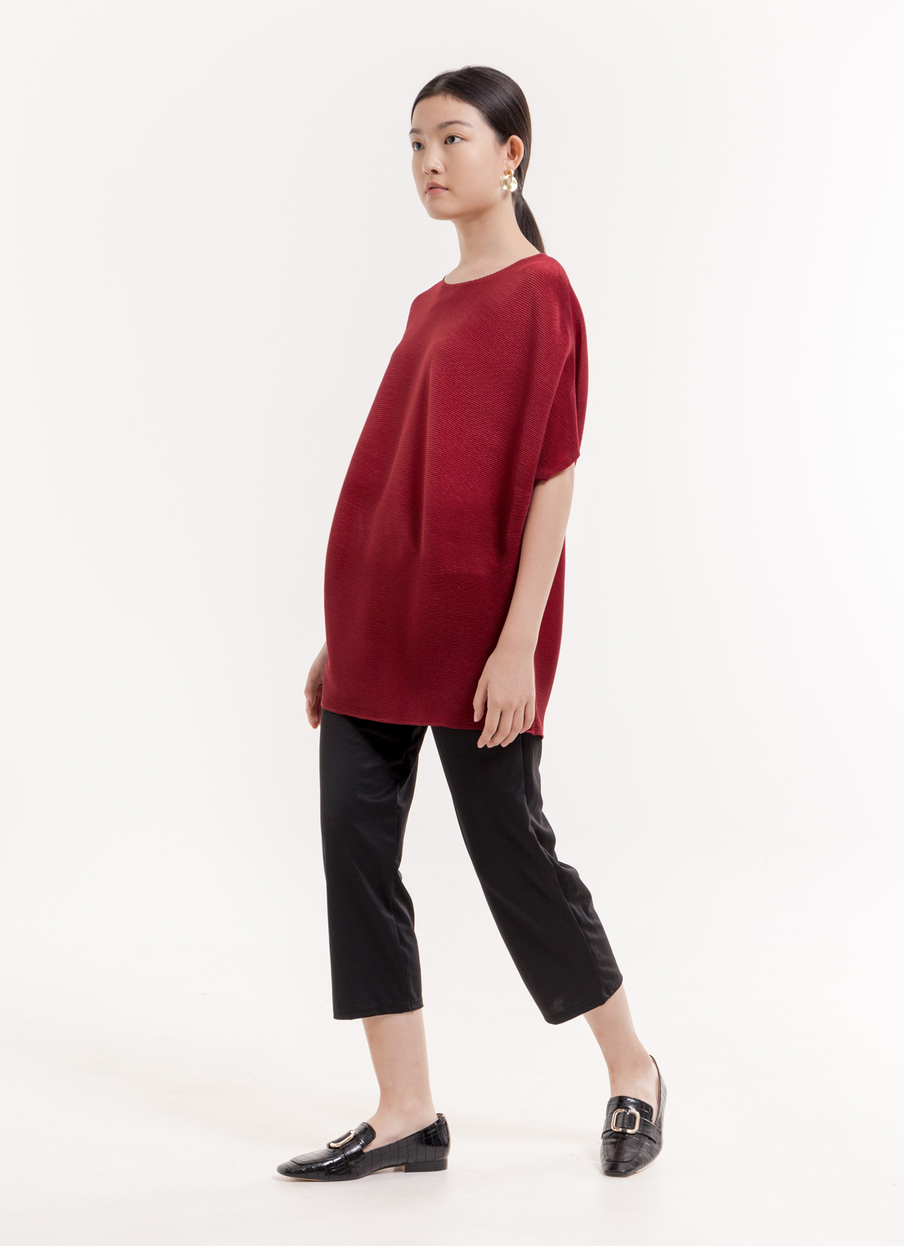 BOWN Loana Top - Red