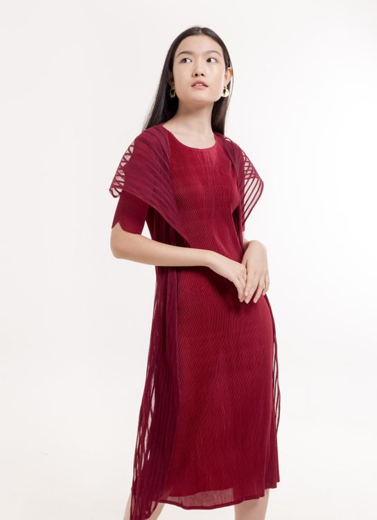 BOWN Sawyer Dress - Red
