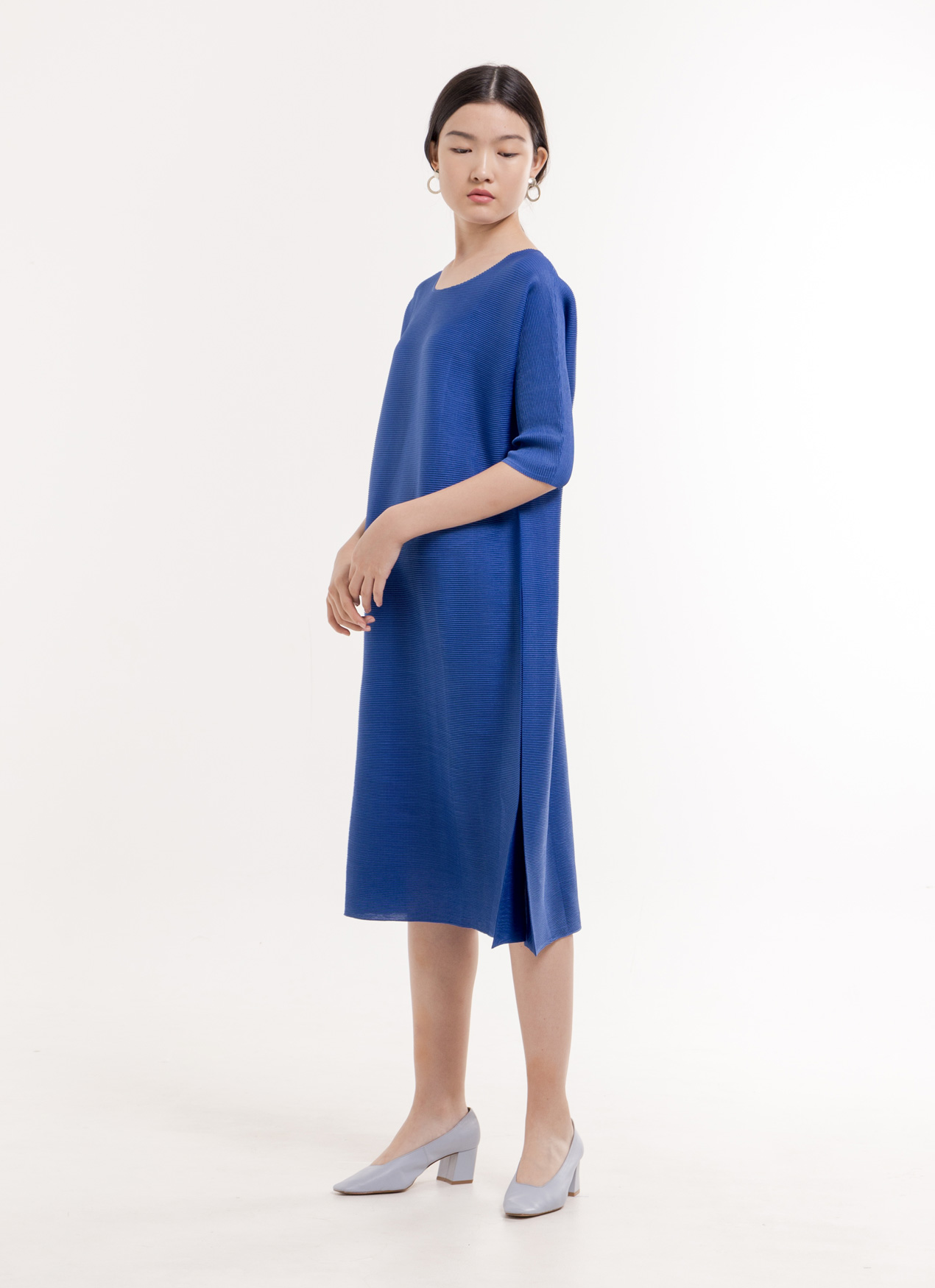 BOWN Lennox Dress  - Blue