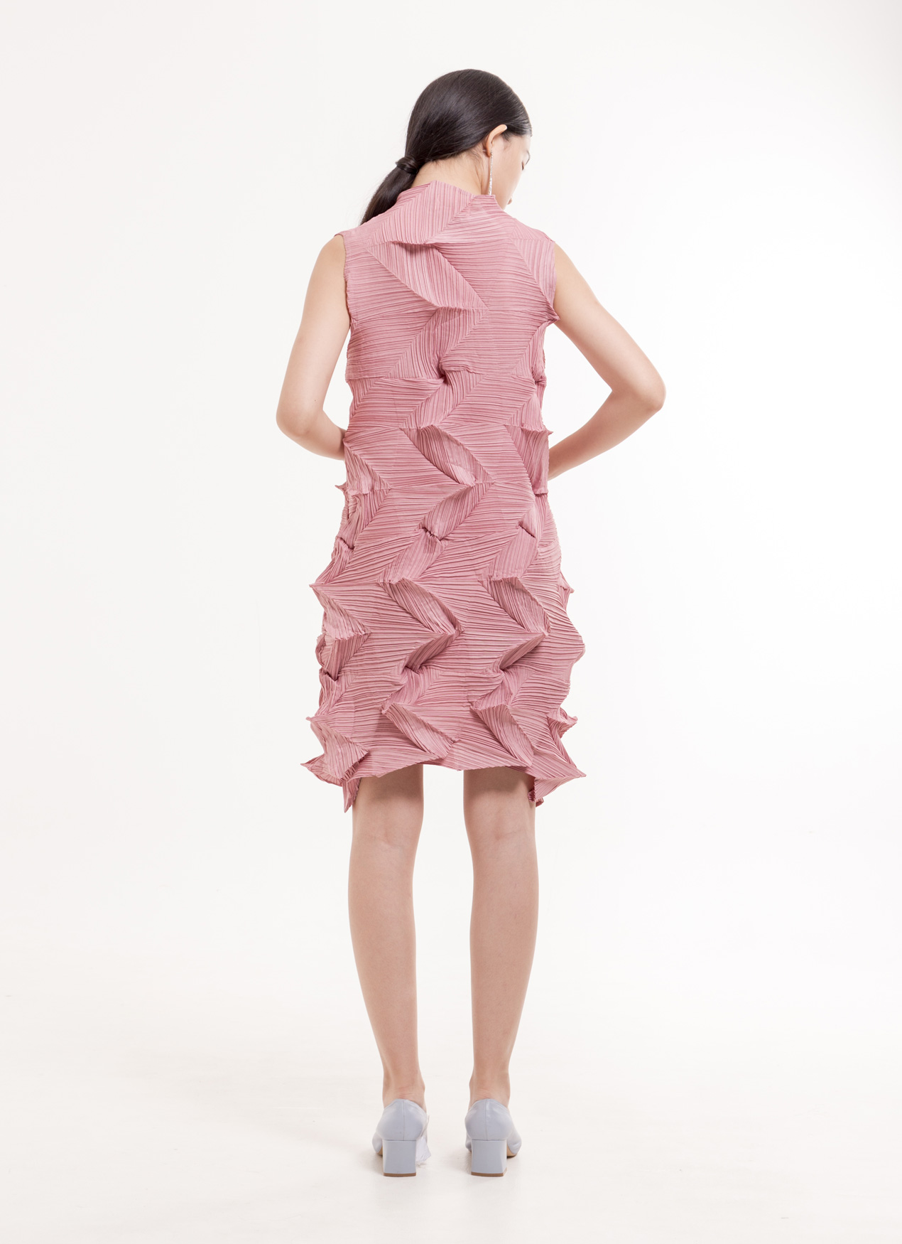 BOWN Bexley Dress  - Pink
