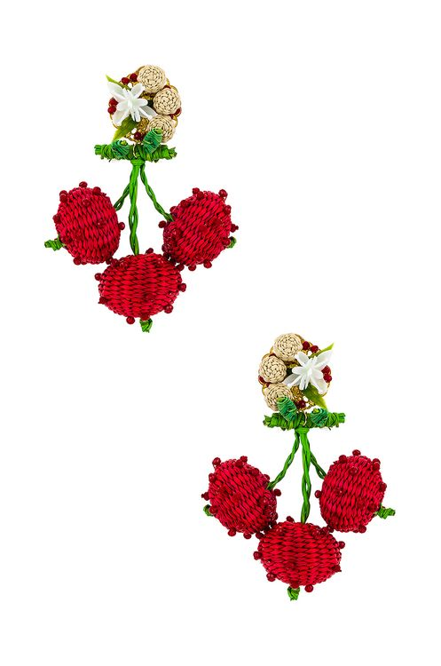 Mercedes Salazar Cherry Dangle Earring
