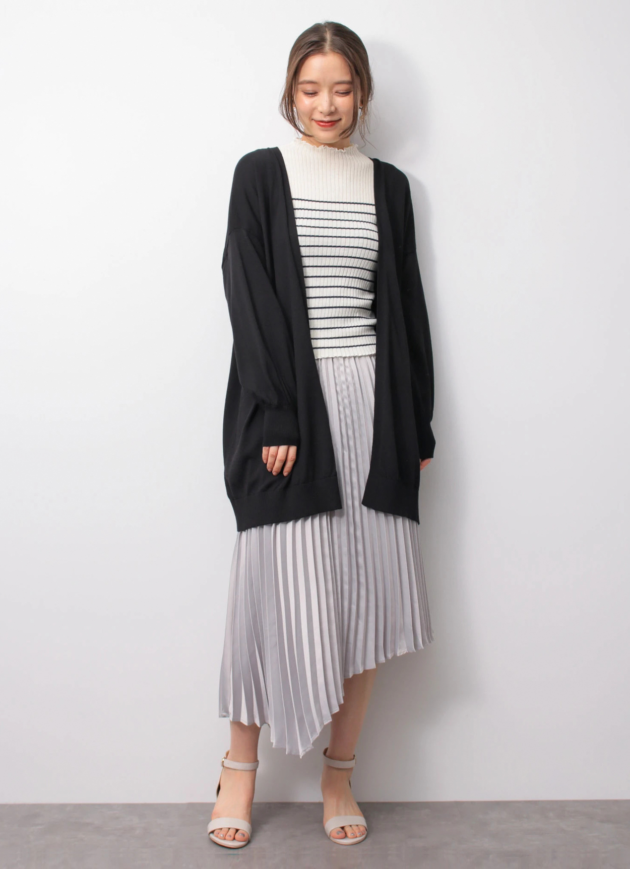 Earth, Music & Ecology Tiana Cardigan - Black