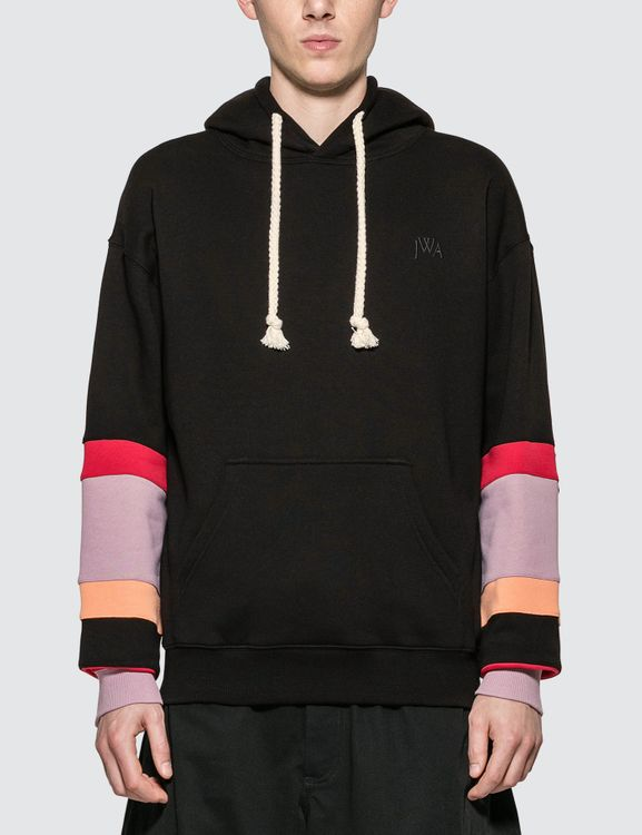 J.W.Anderson Color Block Sleeves Hoodie
