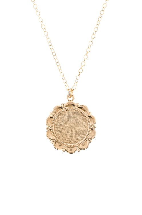 Paradigm Halo Coin Necklace