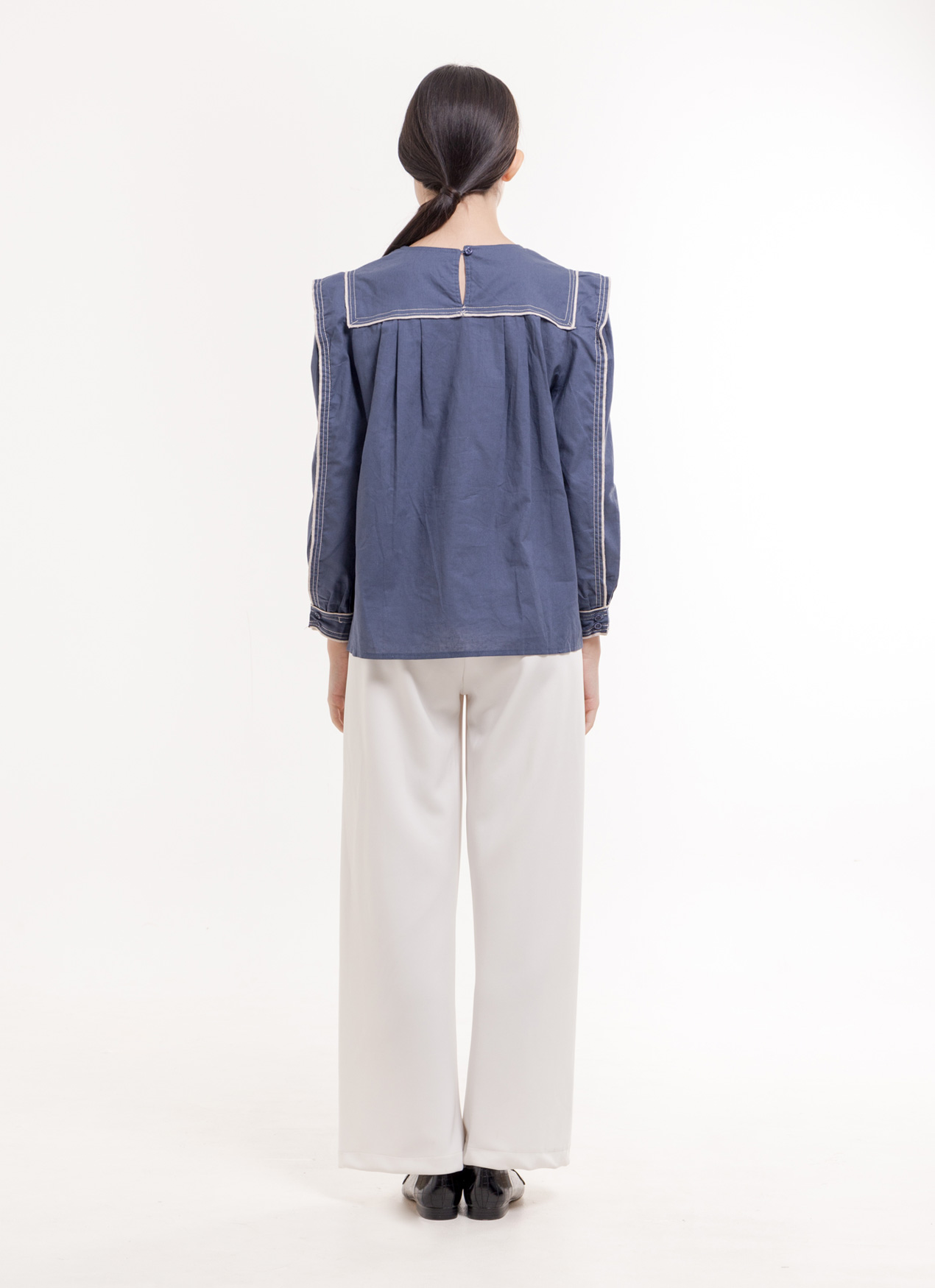 BOWN Cosette Top - Blue