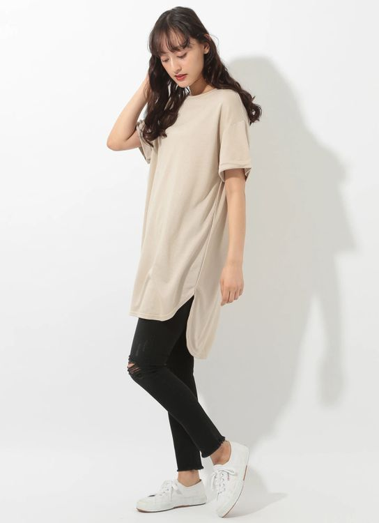 E-hyphen World Gallery Makoto Top - Beige