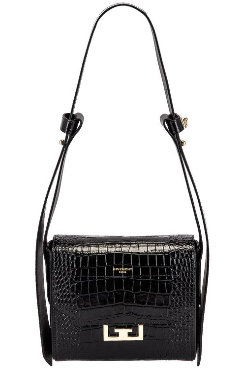 Givenchy Small Eden Embossed Croc Bag
