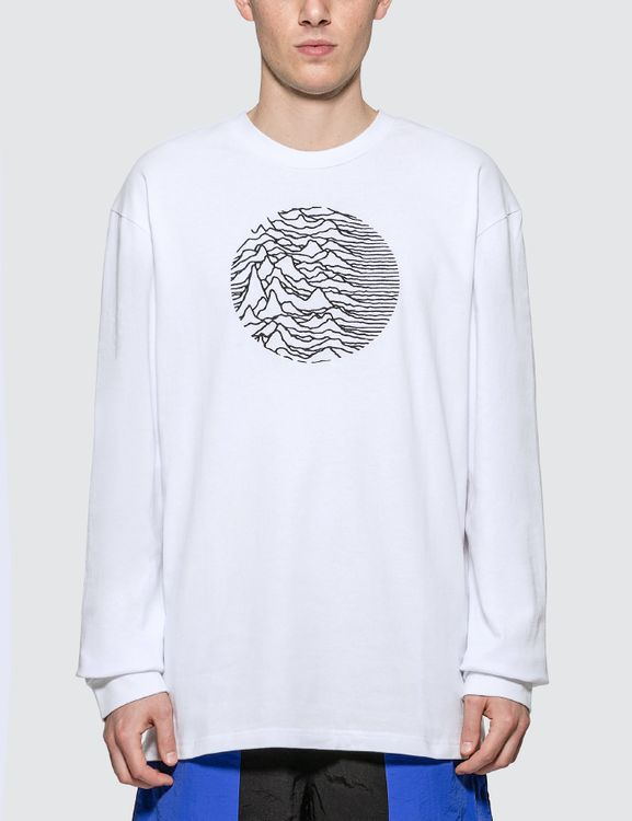 Pleasures x Joy Division Lost Control Embroidered Premium Long Sleeve T-shirt
