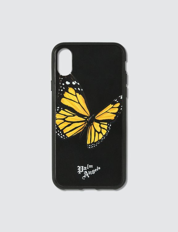Palm Angels Butterfly iPhone Case Xs