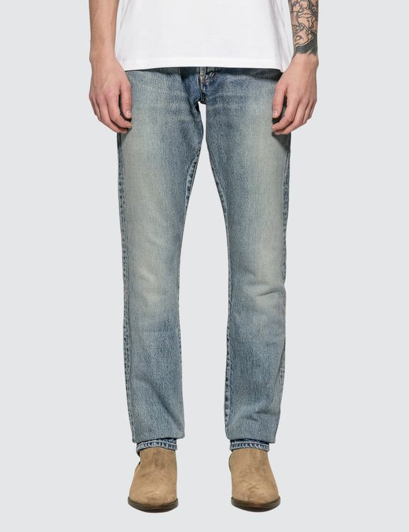 Saint Laurent Straight-cut Jeans