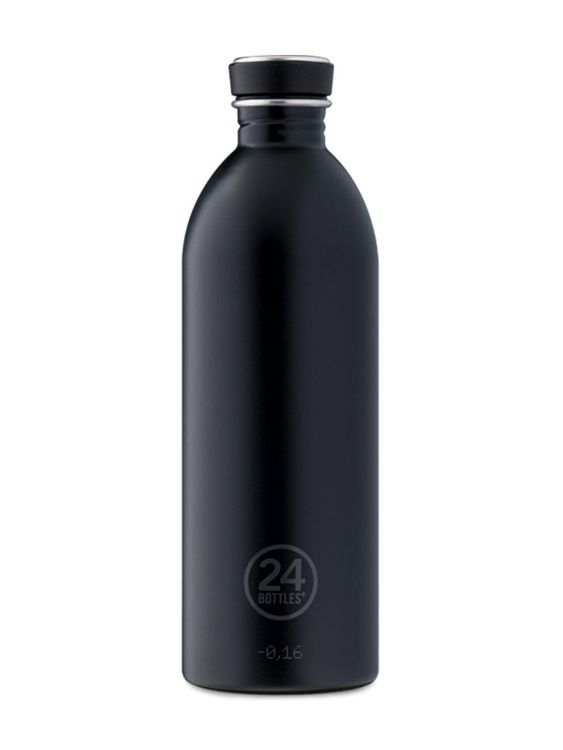 24Bottles 24Bottles Urban Bottle Tuxedo Black 1000ml