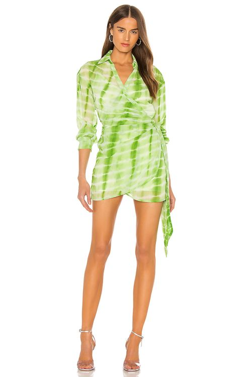 h:ours Jaqi Wrap Dress
