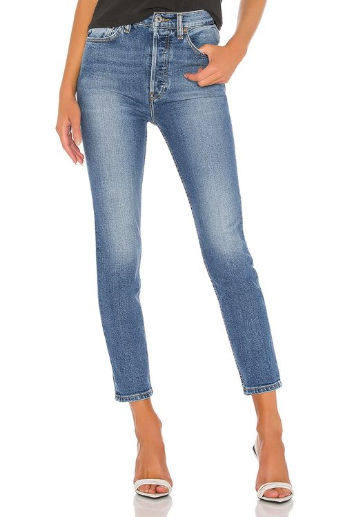 RE/DONE Ultra High Rise Ankle Crop
