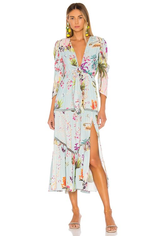 HEMANT AND NANDITA Liv Maxi Dress