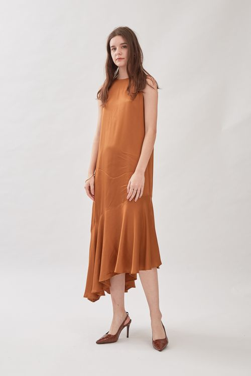 Shopatvelvet Maison Dress Bronze