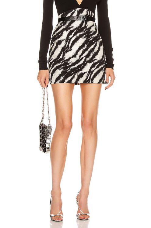 Redemption Lurex Mini Skirt