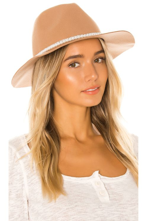 Ettika Pearl Band Hat