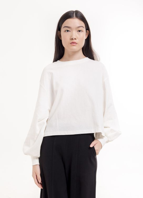 Earth, Music & Ecology Alison Top - Off White