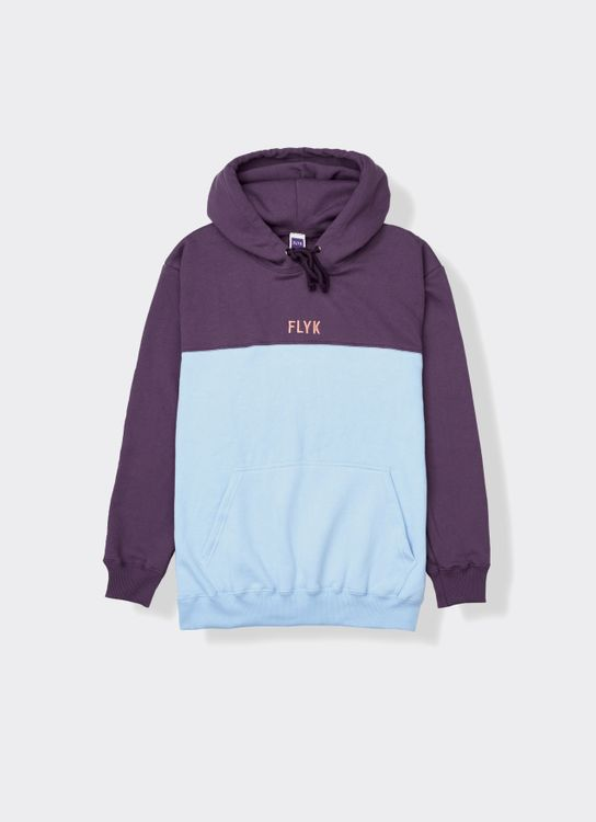 FLYK Two Tone Hoodie - Purple and Blue