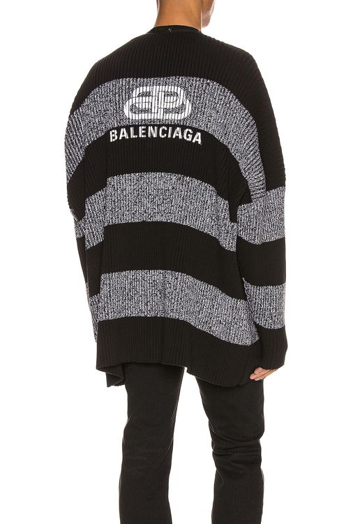 BALENCIAGA Long Sleeve Cardigan