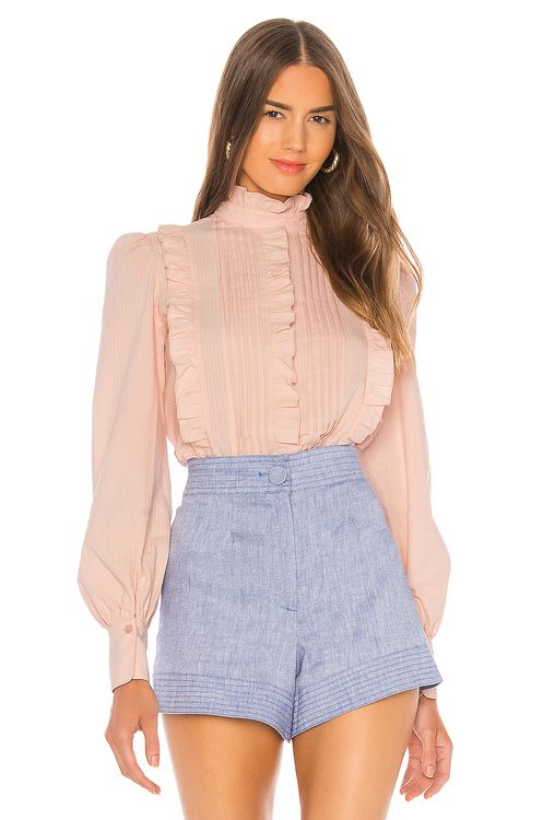 See By Chloé Textured Poplin Blouse