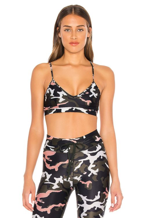 The Upside Camo 54 Andie Bra