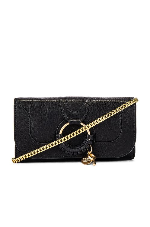 See By Chloé Hana Small Leather Wallet On A Chain Bag
