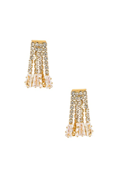 Ettika Dangle Stud Earring