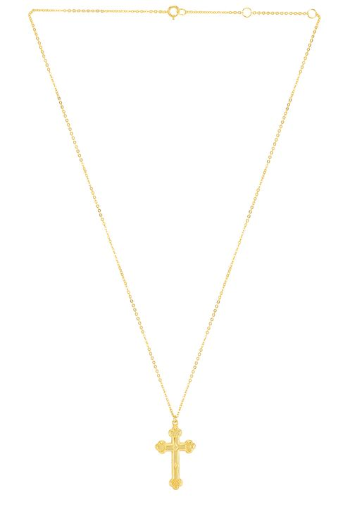 The M Jewelers NY Siena Cross Necklace