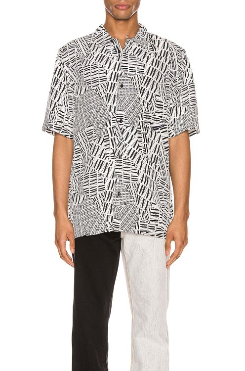 Alexander Wang Silk Hawaiian Shirt