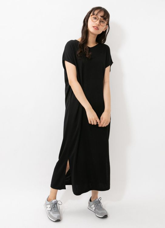 E-hyphen World Gallery Shigeko Dress - Black