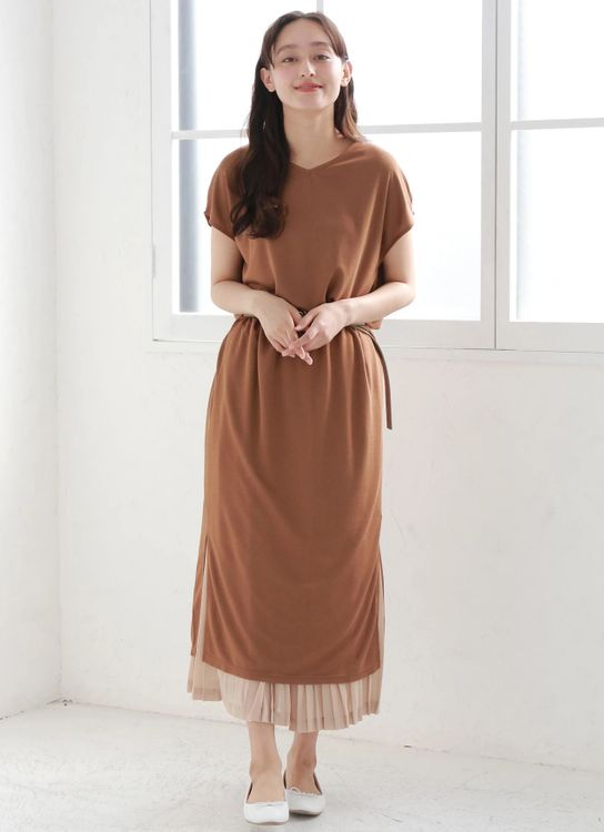 E-hyphen World Gallery Shigeko Dress - Brown