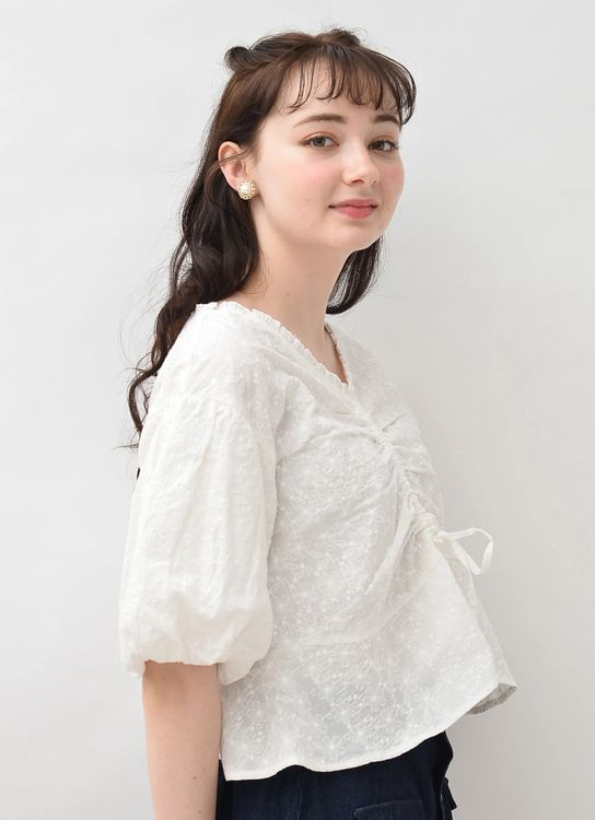 Earth, Music & Ecology Rina Top - Off White
