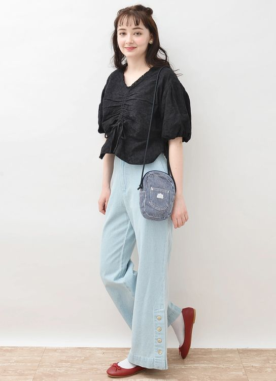 Earth, Music & Ecology Rina Top - Black