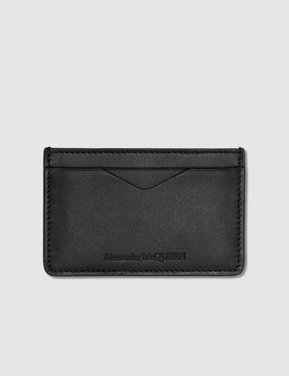 Alexander McQueen Embossed Card Holder