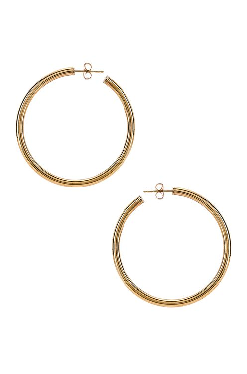 Loren Stewart Natasha Hoop Earrings