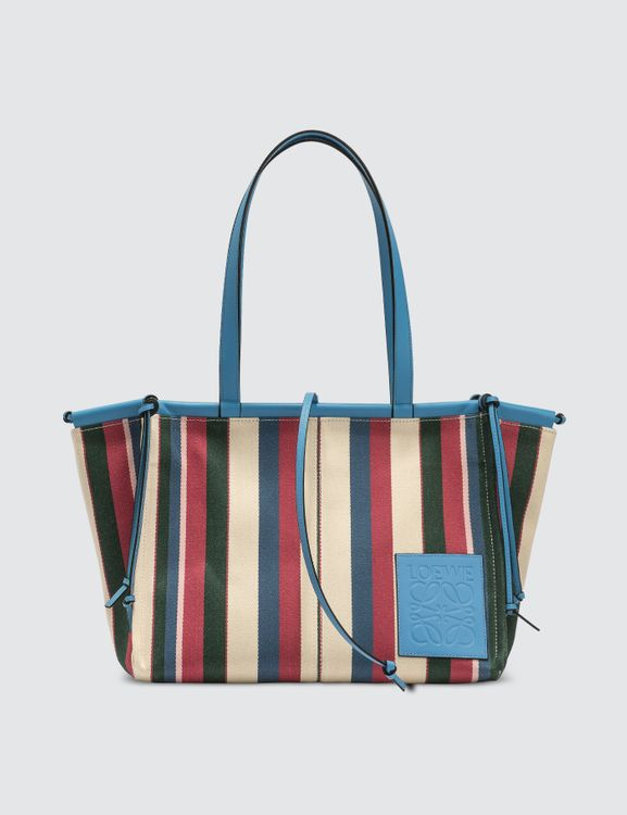 Loewe Stripes Sky Cushion Tote Bag