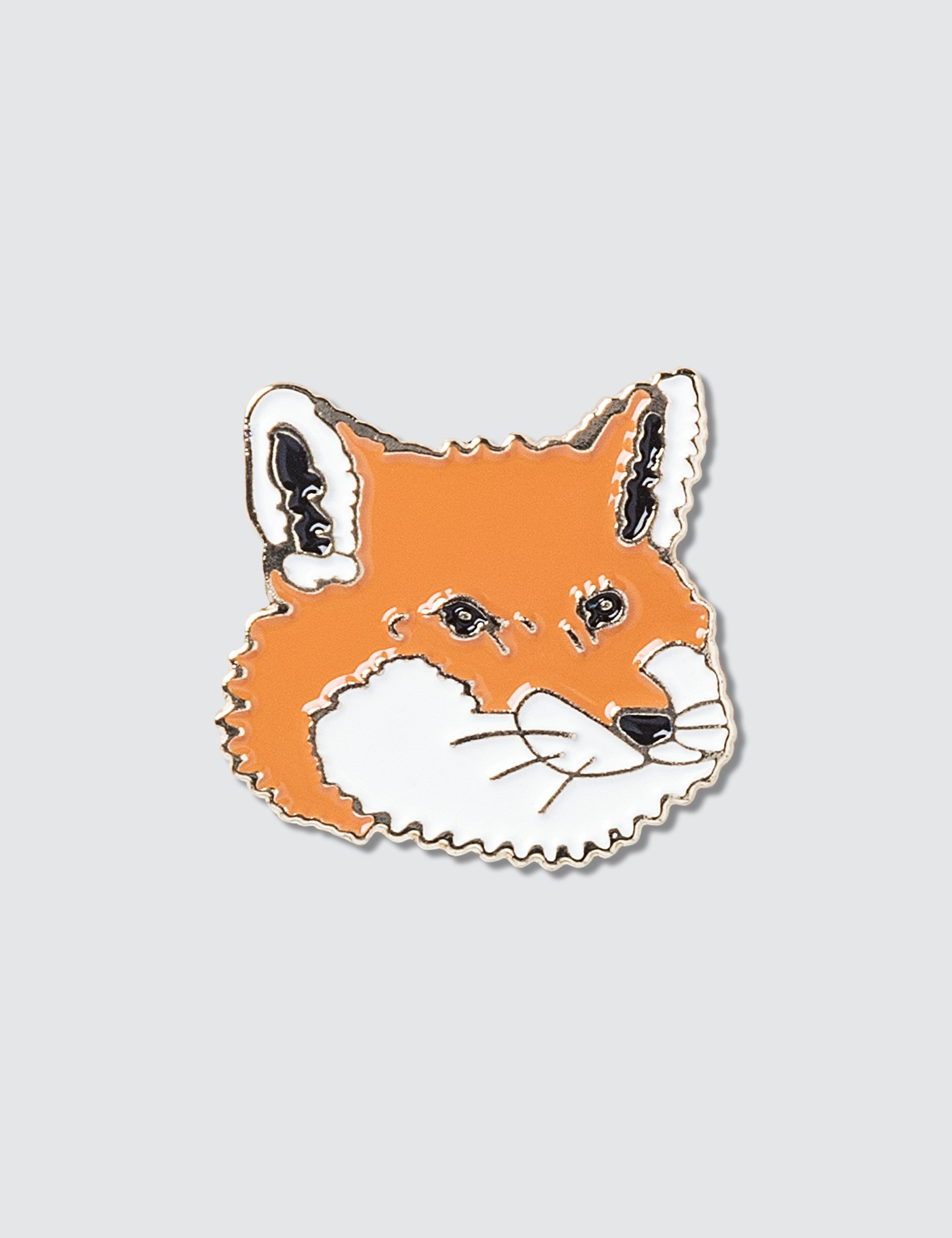 MAISON KITSUNE Fox Head Pins
