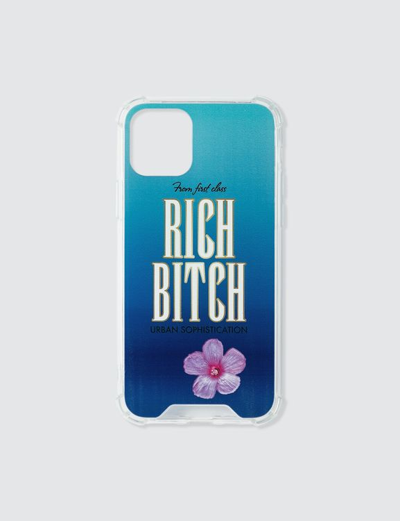 Urban Sophistication Rich Bitch iPhone Case