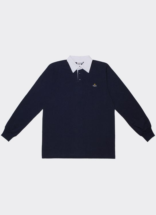 Suns Jeans Rugby Shirt Navy