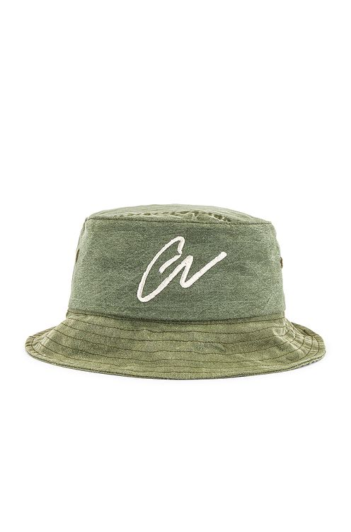 Greg Lauren GL Army Bucket Hat