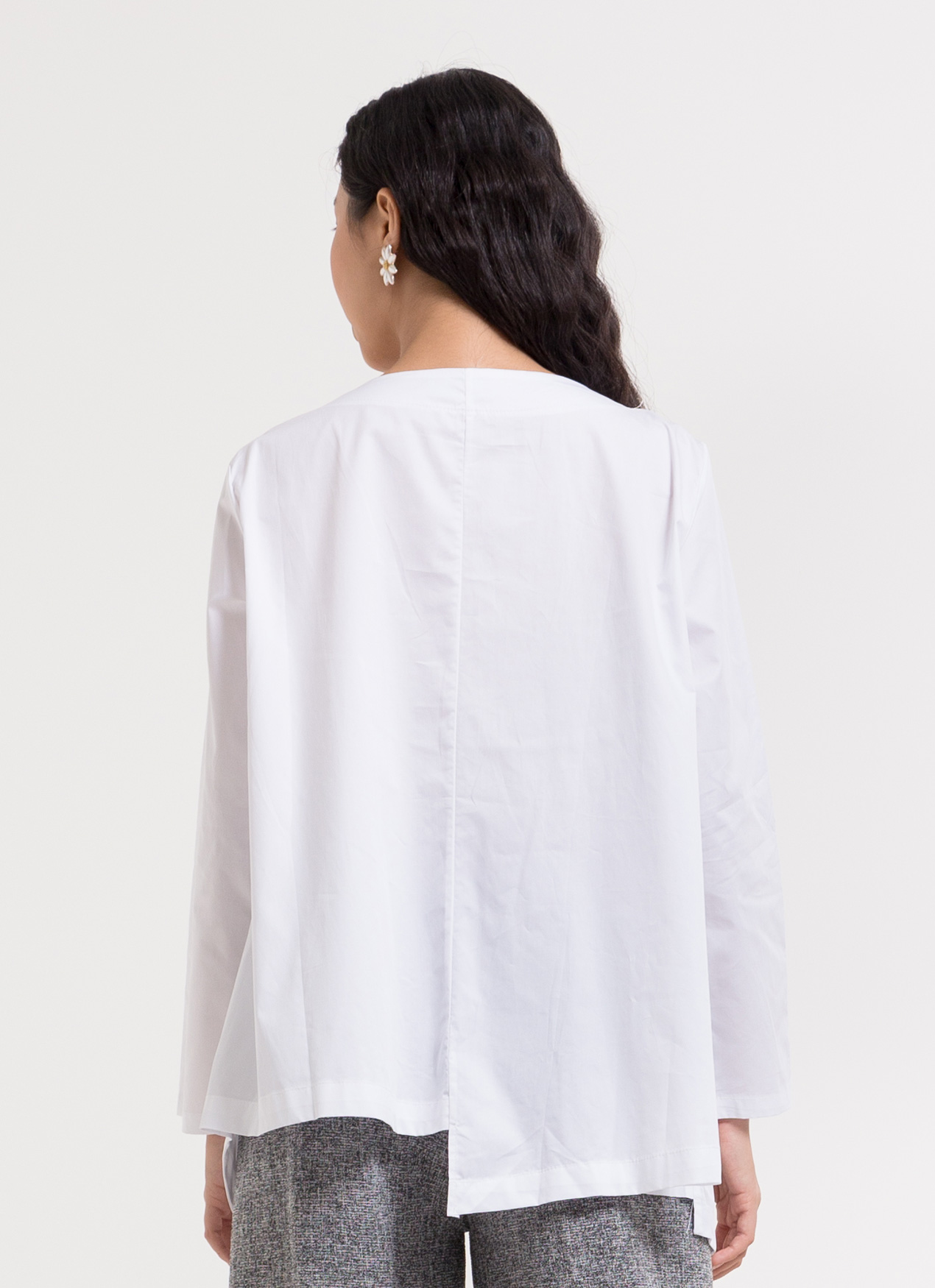 BOWN Candace Top - White