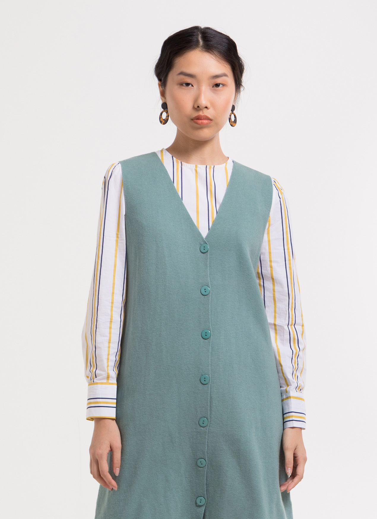 BOWN Walton Dress - Green